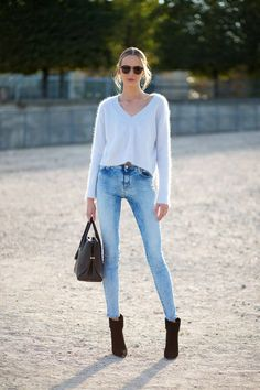 250 perfect street style outfits to copy from Paris Fashion Week.