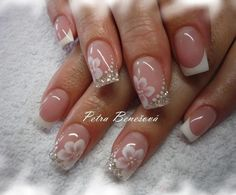 Nails Design Frances Pictures Ideas For 2019 French Nail Art, French Nail Designs, Nail Art Designs, Nails Design, Fancy Nails, Cute Nails, Pretty Nails, Fabulous Nails, Gorgeous Nails