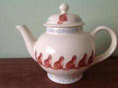 Emma Bridgewater Ginger Tom Four Cup Teapot