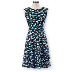Pleated Petal Dress