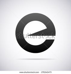 Vector Logo For Letter E Design Template - 276342473 : Shutterstock