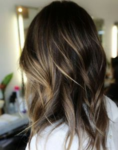 Summer Highlights For Brunette Hair color