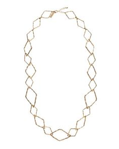 Diamond-Shape Necklace by Kendra Scott at Last Call by Neiman Marcus.