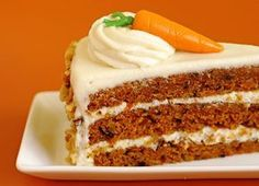 Gluten-free carrot cake using Pamela's baking mix. Just like a classic carrot cake. Gluten Free Carrot Cake, Healthy Carrot Cakes, Best Carrot Cake, Food Cakes, Gourmet Recipes, Cake Recipes, Un Cake, Decadent Cakes, Salty Cake