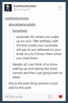 Dude this actually works for both Anna (Frozen) AND ANNE (Anne of Green Gables) <<< literally pinning just for that nugget of gold
