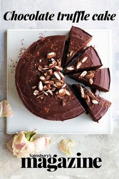 Voted by readers as our best chocolate cake, our 2005 Easter cover star is drenched in truffle icing and topped with chocolate-covered almonds