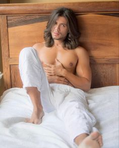 Handsome, Long Hair Styles, Bed, Hairstyles, Haircuts, Hairdos, Stream Bed, Long Hairstyle, Hair Makeup