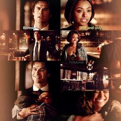 """30 day The Vampire Diaries challenge day 6 Bamon hug is my favorite moment #TVD 6x15 """"Let Her Go"""" - Bonnie is home"""
