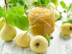 Pear Chutney Recipe - Sweet & Spicy Pear and Apple Chutney with Ginger