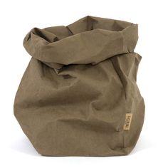 Sustainable paperbage XL from UASHMAMA www.houseofbk.com