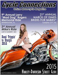 2015 Harley-Davidson Street Glide & Cover Model Sabrina