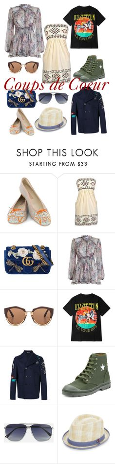 """""""Coups de Coeur"""" by jackie-mallet ❤ liked on Polyvore featuring MEHER KAKALIA, Gucci, Zimmermann, Marni, Valentino, Givenchy, Tom Ford and Robert Graham"""