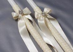 Forever Orthodox Wedding Candles-Wedding Lambathes-Greek