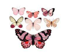 "Vintage Pink Butterfly Temporary Tattoos - ""Flitter & Fly"" von TheFickleTattoo auf Etsy https://www.etsy.com/de/listing/206340360/vintage-pink-butterfly-temporary-tattoos"