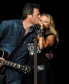 Miranda Lambert and Blake Shelton = the true image of love!