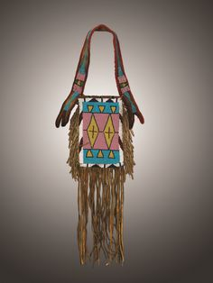Cayuse Western Americana - Fine Cowboy Antiques, Native American Antiques, and National Park Antiques Native American Pottery, Native American Beadwork, Native American Jewelry, Native American Indians, Native Americans, Beaded Mirror, Indian Artifacts, American Indian Art, Tribal Rug