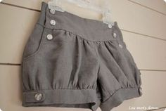 now in English! Léon bloomer shorts pattern