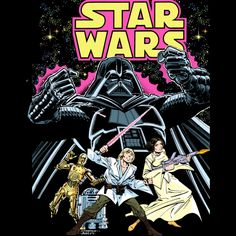 Star Wars Comic Book is a T Shirt designed by StarWars to illustrate your life and is available at Design By Humans