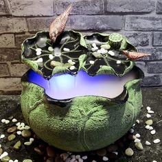 Barato Novo chinês Art Deco sala escritório decoração tanque de água utilitário de atomização umidificação fonte criativa marinha, Compro Qualidade Decorações para sapato diretamente de fornecedores da China: 1___