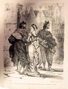 Ilustraciones de Eugéne Delacroix para el Fausto de Goethe - Librópatas