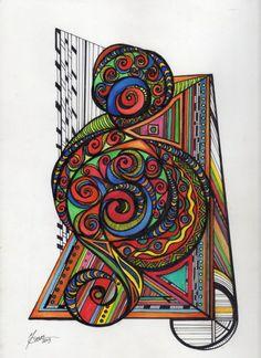 Tangle Design028..Michelle Casas...The Art Colony