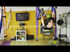 Gravity free anti Aging. Aerial Yoga from the Aero Yoga Institute, International teacher training, Spain    El Método Aero Pilates® en Televisión .mov