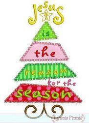Jesus Tree Applique - 3 Sizes! | Religious | Machine Embroidery Designs | SWAKembroidery.com Lynnie Pinnie