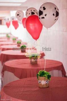 Resultado de imagem para centro de mesa fazendinha Farm Fest, Farm Birthday, Baby Shower, Ideas Para Fiestas, Wedding Decorations, Alice, Birthdays, Party, Anti Frizz