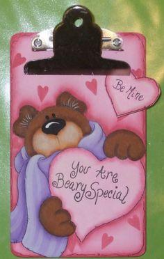 1040 Beary Special clipboardPattern