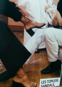 Maison Martin Margiela 90's Topless Tabi Shoes via Shoulderblades