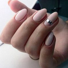 Almond-shaped nails Beautiful evening nails Evening nails Long nails Nail art stripes Nails with stickers Pale pink nails Party nails Long Nails, My Nails, Short Nails, Almond Nails Designs, Gel Nagel Design, Nail Art Pictures, Nagellack Trends, Manicure Y Pedicure, Manicure Ideas