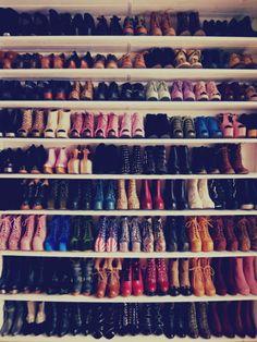 I wish I had this many shoes!!!!