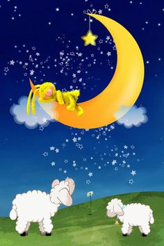 """Good Night Dreamers"" by Marion Tenbergen Good Night Greetings, Good Night Wishes, Good Night Moon, Good Night Image, Good Night Quotes, Good Morning Good Night, Night Time, Evening Quotes, Crazy Fans"