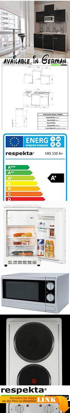 B01LZMUXLI  respekta Küche Küchenzeile Einbauküche Küchenblock 250 - hochschrank 30 cm breit küche