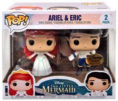 Funko Pop- Couple Disney Éric et Ariel