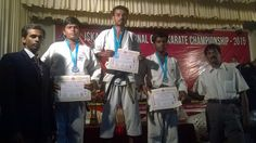 JSKA-International open karate championship 2015. on 26 and 27 December 2015 in Kerala. My students won the medals .