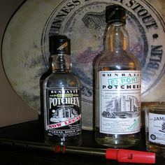 Potcheen:  distilled in the same fashion as American Moonshine in a traditional small pot still and It is also a grain alcohol. Alcohol by volume runs between 60 and 90%. and was banned in 1661 in Ireland. The ban was lifted in 1997 by the Irish Revenue Commissioners and is now on sale to the public again.