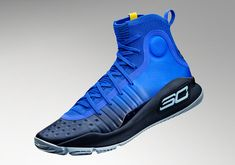 """The Under Armour Curry 4 arrives in the new """"More Fun"""" colorway featuring a gradient upper on November Stephen Curry Outfit, Stephen Curry Shoes, Me Too Shoes, Men's Shoes, Shoes Sneakers, Hot Shoes, Tenis Basketball, Curry Basketball, Basketball Stuff"""