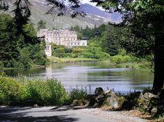 Ballynahinch Castle, Connemara Ireland - and its a hotel