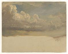 """desimonewayland: """" Frederic Edwin Church, Cloud Study, 1871 Cooper-Hewitt Museum """""""