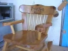 How to build kid's rocking chair yourself