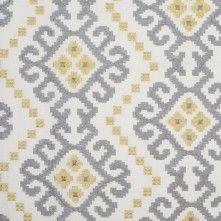 Pale Gray Embroidered Home Decor Cotton