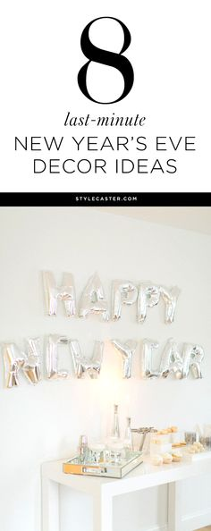 1000 images about new year 39 s eve party ideas on pinterest new years eve party new years eve - Last minute new year s eve party ideas ...