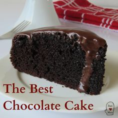 Best Ever Chocolate Cake - Just a Mum - - This is THE best ever chocolate cake. Simple to make but luxurious, chocolatey, decadent and oh so moist. Best Ever Chocolate Cake, Chocolate Cake Recipe Easy, Homemade Chocolate, Chocolate Recipes, Chocolate Cakes, Thermomix Chocolate Cake, Super Moist Chocolate Cake, Chocolate Cake From Scratch, Easy Cake Recipes