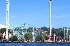 Image showing the Tivoli Grona Lund theme park