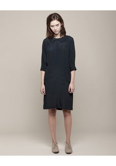 peter jensen/double collar dress