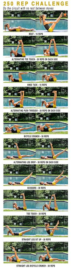 250 Rep Challenge | Posted By: CustomWeightLossProgram.com