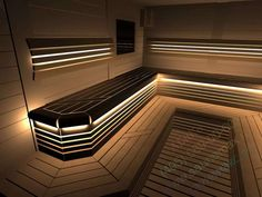 Sauna Steam Room, Pump House, Wellness Spa, Jacuzzi, Stairs, Construction, Image, Home Decor, Beds