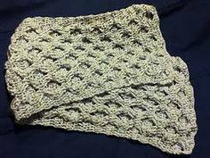 Reversible Crocheted Cable Pattern pattern by Julie Huston