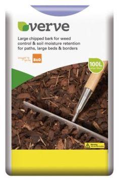 Verve Large Chipped Bark 100L, 00000037175304 for £20